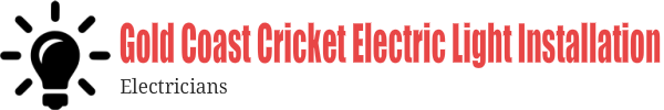 Gold Coast Cricket Electric Light Installation